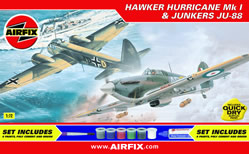 Hurricane and Junkers Ju-88 gift set