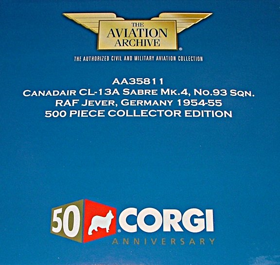 "Canadair CL-13A Sabre ""Collector Edition"""