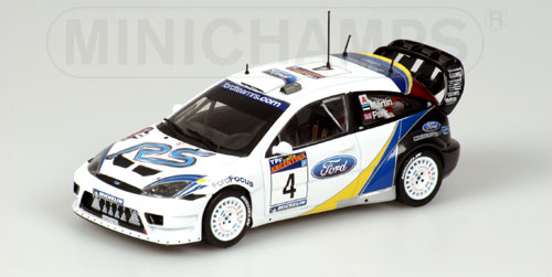 Ford Focus RS WRC Argentina 2003 Maertin/Park
