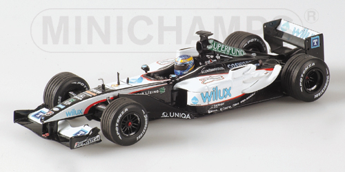Wilux Minardi Cosworth Showcar, Baumgartner