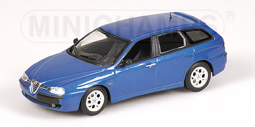 Alfa Romeo 156 Sportwagon. Alfa Romeo 156 Sportwagon (metallic blue) - Carairo - model cars and aircraft online