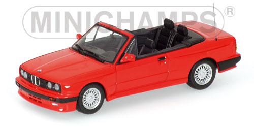 BMW M3 Cabriolet - red - 1988 model year