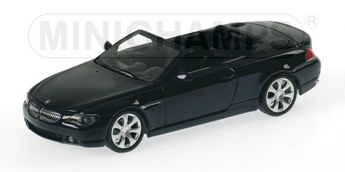 BMW 6 series cabrio - dark metallic blue