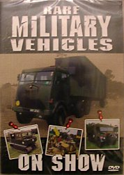 Rare Military Vehicles on Show