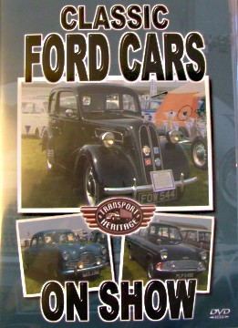 Classic Ford Cars on Show