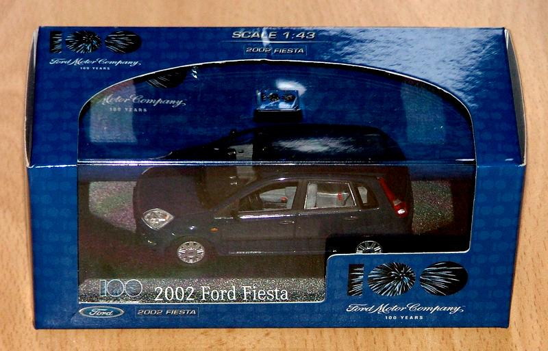 Ford Fiesta 5 door blue 2002