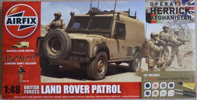 British Forces Land Rover Patrol set