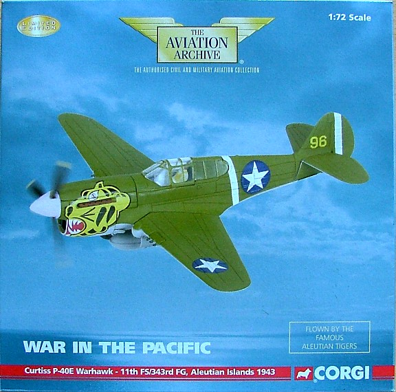 Curtiss P-40E Warhawk - Aleutian Islands 1943