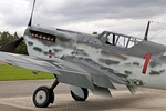 The Buchon now looks very impressive painted in the scheme of a WWII 109