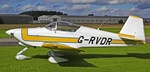 """Vans RV6 - As it was supposed to be a Vans """"fly in"""" it was good to see an example of the type."""