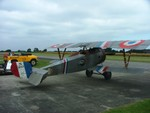 "Nieuport fighter reproduction - also from ""Flyboys"""