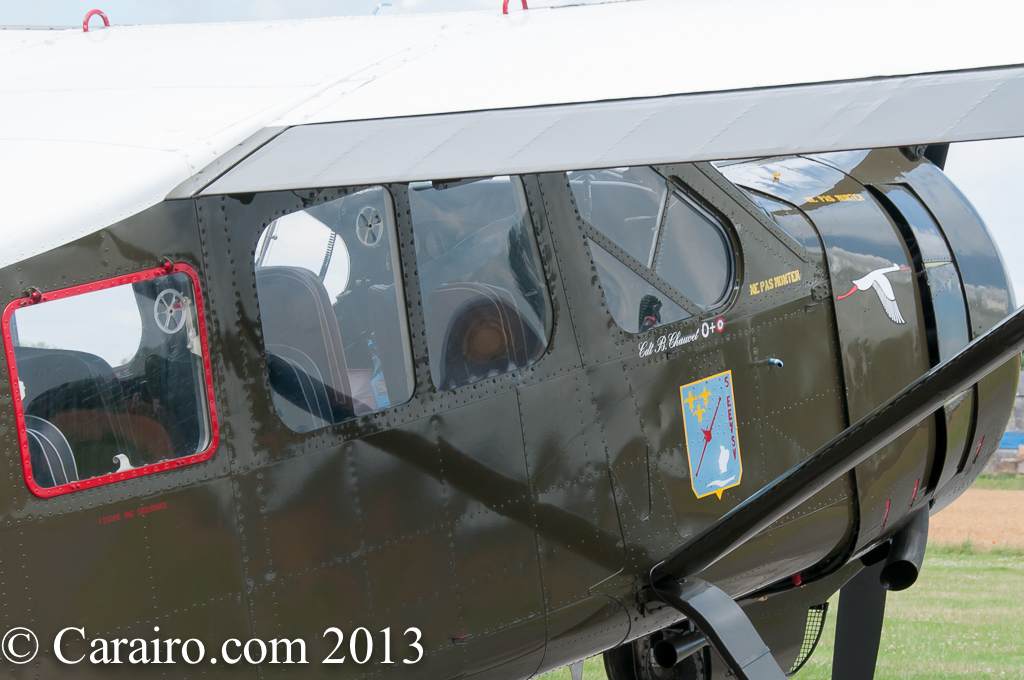 Max Holste MH.1521M Broussard close up