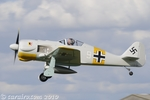 This W.A.R. scale replica FW-190 created lots of interest