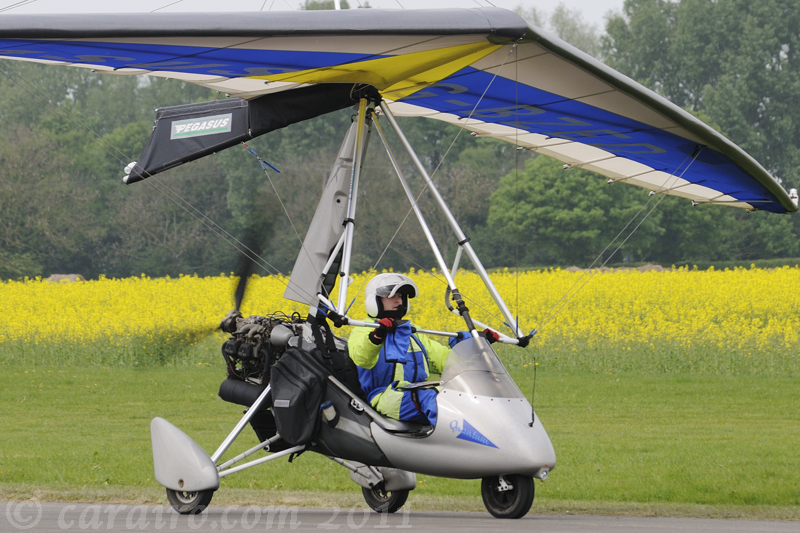 G-BZED Pegasus Quantum microlight