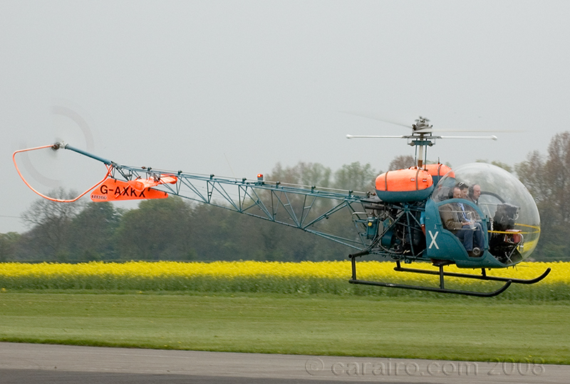 This Westland Bell 47G-4A is a recent addition to the Breighton resident aircraft