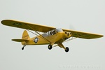 The bad weather meant that there were no visiting Pipers but at least the resident Super Cub took to the air.