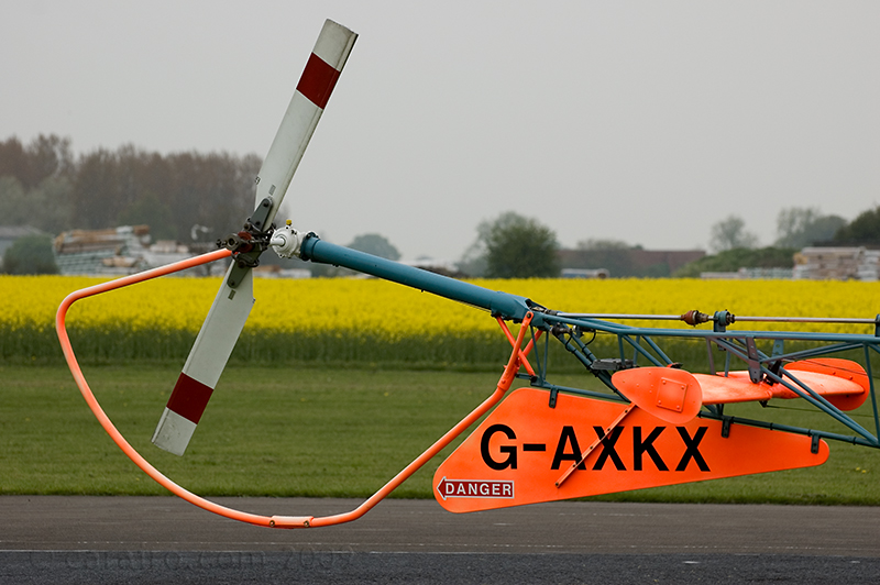 Bell47 Tail Rotor