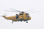 Sea King XZ594 is came from RAF Leconfield