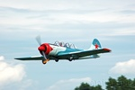 Breighton visitors are often treat to a superb display of aerobatics by the pilot of Yak 52 - G-TYAK