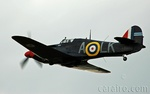 The Breighton Based Hurricane wears the markings of a famous WWII aircraft
