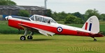 Ex RAF Chipmunk still wearing the military trainer  markings WK640