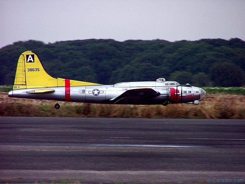 """B17 """"Virgin's Delight"""" on a low pass"""