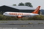 RC Easyjet Airbus A320 low pass