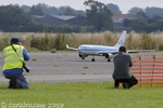 Photographing the KLM A330 landing