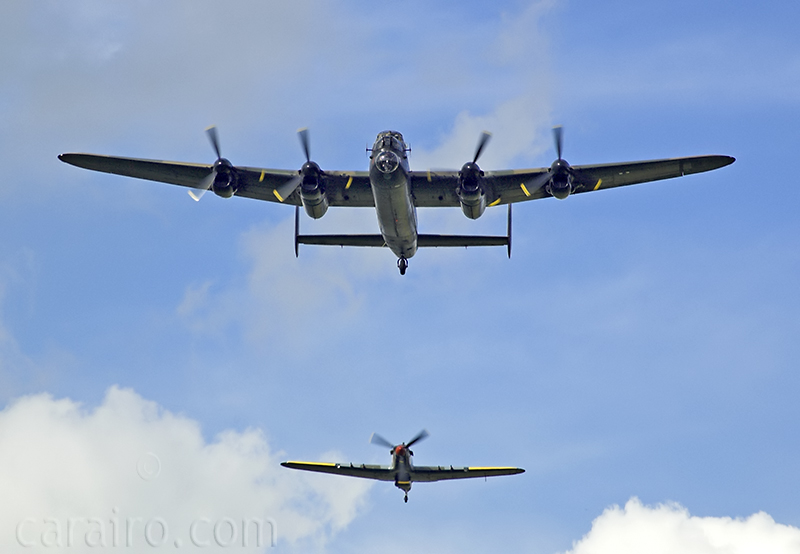 Lancaster and Hurricane