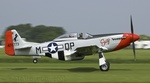 P-51 Mustang Susy taking off