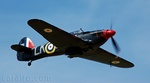 The black colour scheme of the Hurricane looked stunning against the blue sky