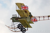 The Avro Triplane reproduction is a beautiful machine from the dawn of aviation design