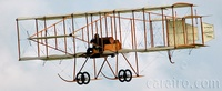 "The Boxkite reproduction was created for the 1965 film ""Those Magnificent Men in their Flying Machines"""