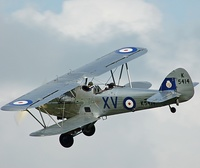 Former Royal Afghan Air Force Hawker Hind