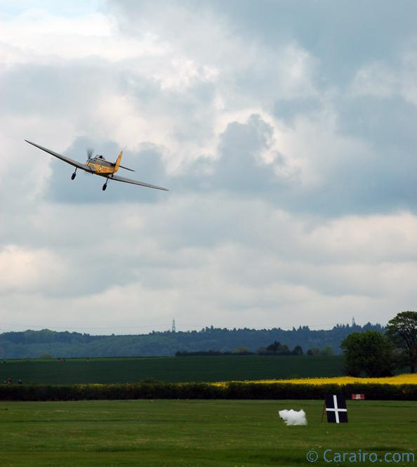 The collection's Miles Magister taking part in the Flour bombing competition