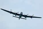 BBMF Lancaster on 10th May 2008 - Fly past for the  Battlegroup North Military Wheels & Wings Show