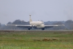 Nimrod moments after touching down