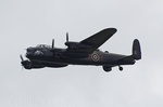 BBMF Lancaster PA474 performing a flypast
