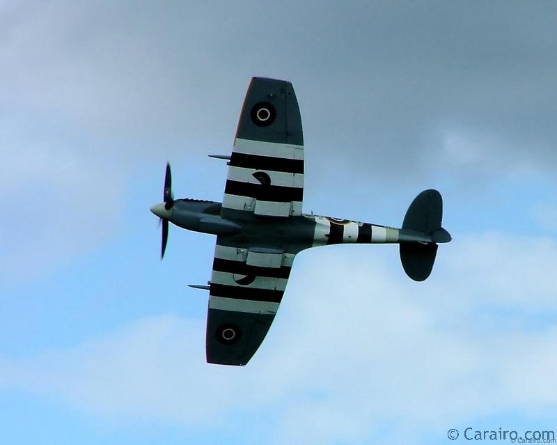 Spitfire Mk LFIXe of the Battle of Britain Memorial flight.