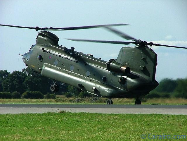A superb display by the Chinook.