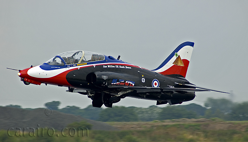 BAe Hawk taking off